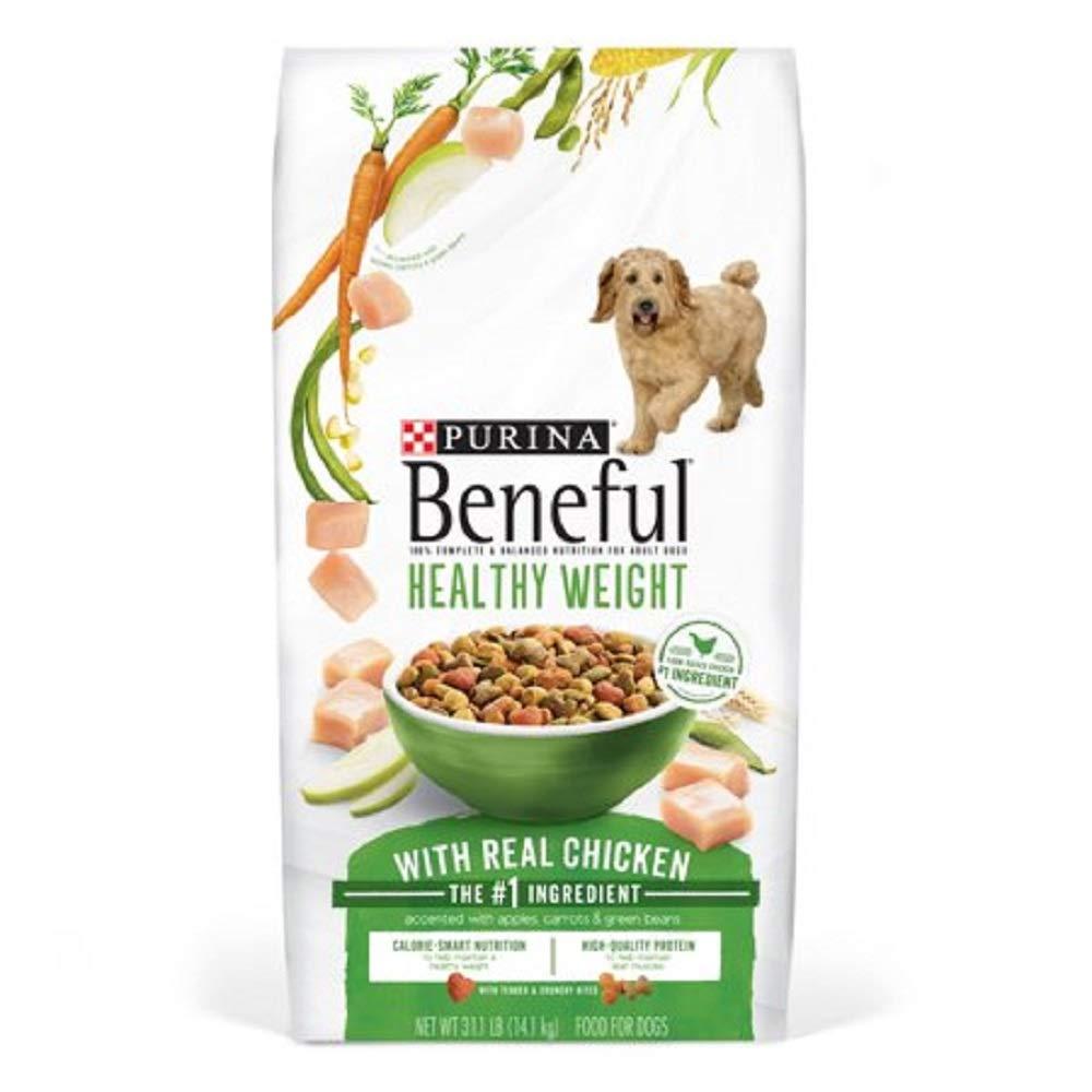 31.1 lb. Bag Purina Beneful Originals Adult Dry Dog Food 31.1 lb. Bag (Healthy Weight, 31.1 lb. Bag)