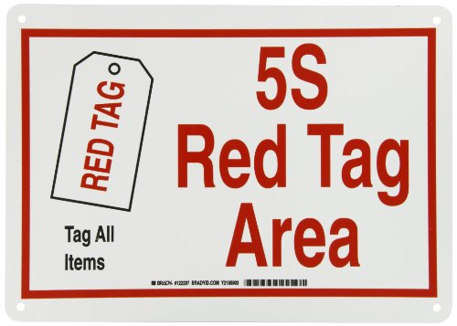 5s red tags - 5