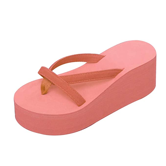 Amazon.com: Mink Monk Sandals Women High Heel Zapatillas Chinelo Shoes Summer Fashion Straped Slippers Flip Flops Black: Kitchen & Dining