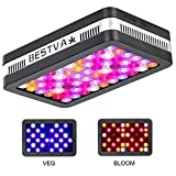 BESTVA SAMSUM Series 600W COB LED Grow Light Full Spectrum Grow Lamp for Hydroponic Indoor Plants Veg and Flower (2 Dim Infrared Rays)
