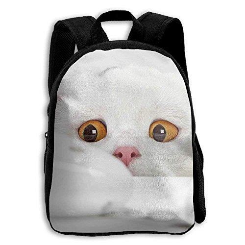 Kids Backpack Cat And Dandelion Outdoor Shoulder Children School Bag Daypack Gift by Lovexue