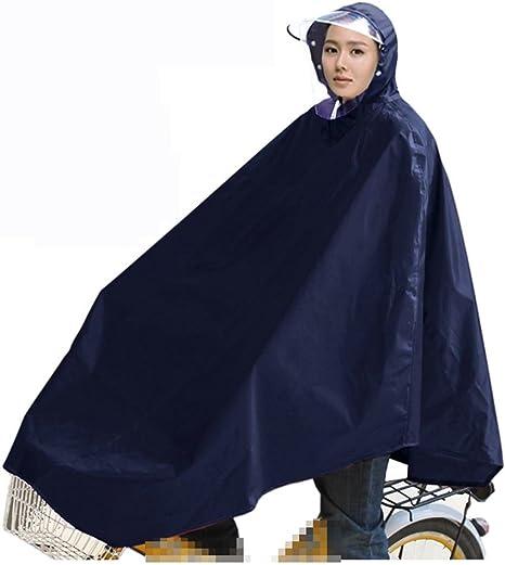FUHOAHDD Poncho de Bicicleta, Impermeable para Hombre y Mujer al ...
