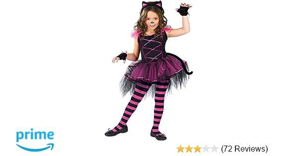 18039e6d5 Amazon.com  Fun World Catarina Child Costume Black Pink Small (4-6 ...