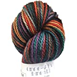 Artisan Yarns Hand Dyed Baby Alpaca Yarn, Hand Painted: Royal, Dk Weight, 80 Grams, 200 Yards, 100% Baby Alpaca