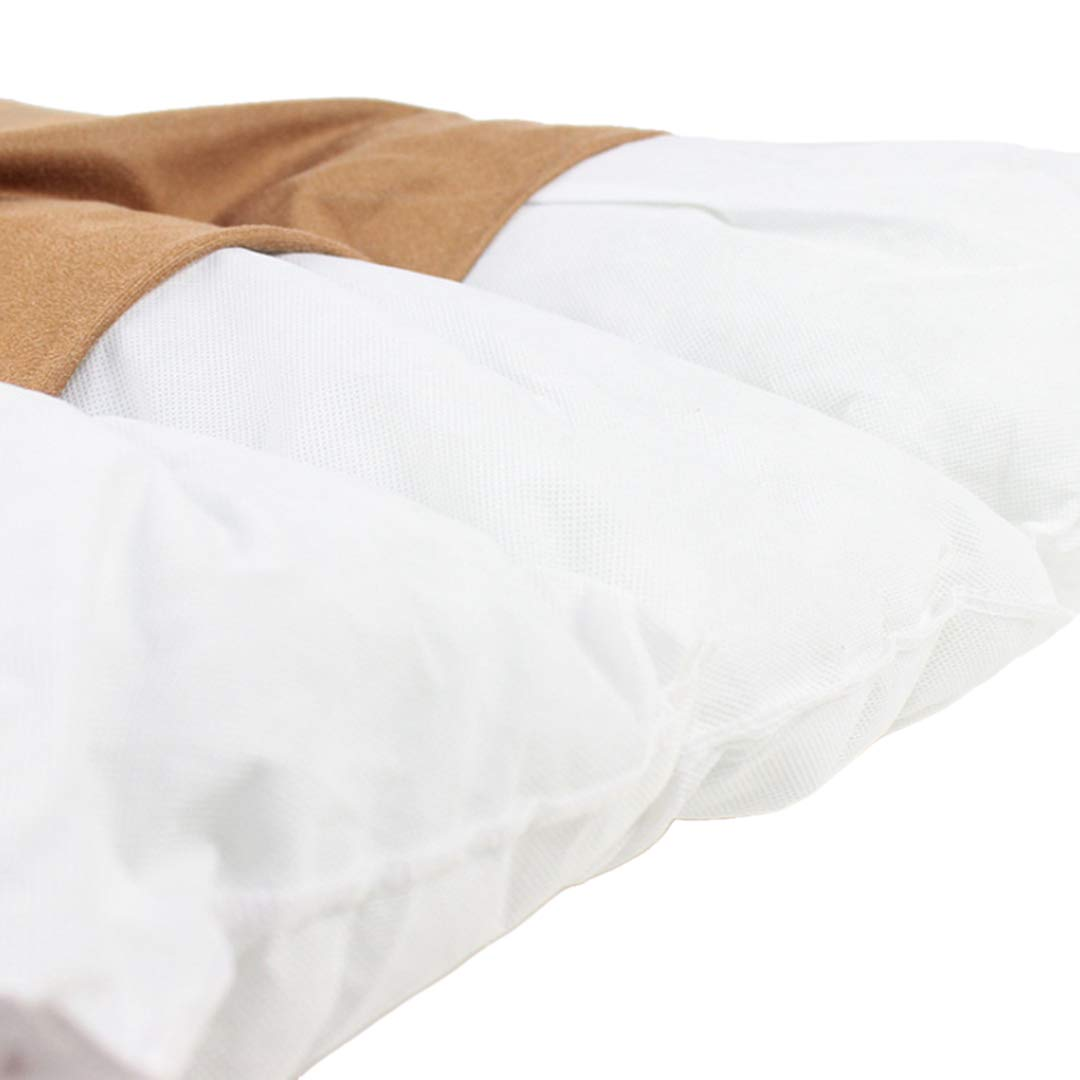 Comfy300 Medium /& Extra Large Fur Dog Bed Cushion Washable Zipped Mattress Medium, Chocolate Texture