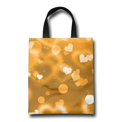 Amazon.com: rfghuhb glare-hearts-lights-glitter-gold bolsa ...