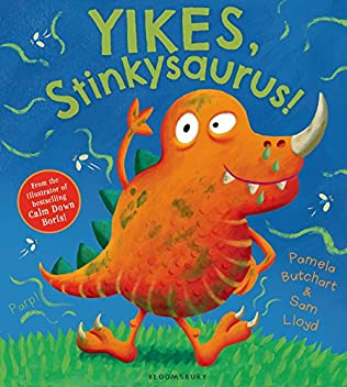 book cover of Yikes, Stinkysaurus!