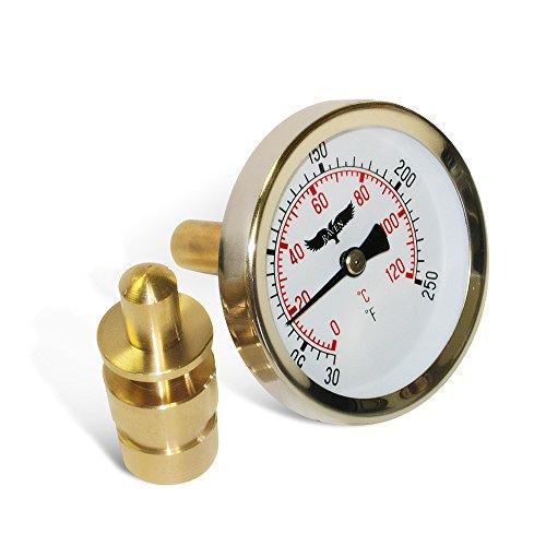 Install Water Temperature Gauge - 3