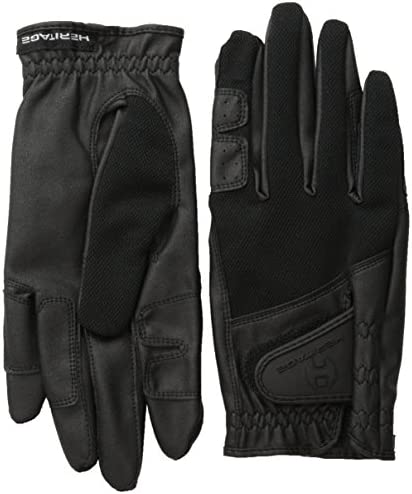 Heritage X-Country Glove Black//Gray 7