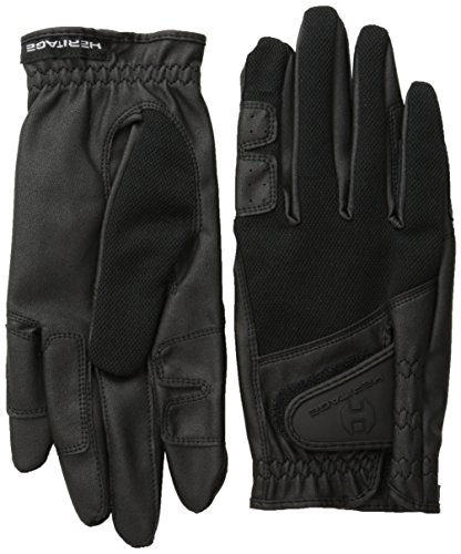 Heritage X-Country Gloves, Size 8, Black - Heritage Competition Gloves