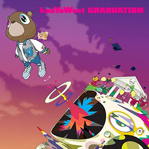 Sulili Kanye West-Graduation Music Album Cover Poster Art Print Wall Posters Size 20