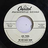 Big Ben Banjo Band 45 RPM I.O.U. Polka / Anna Lisa