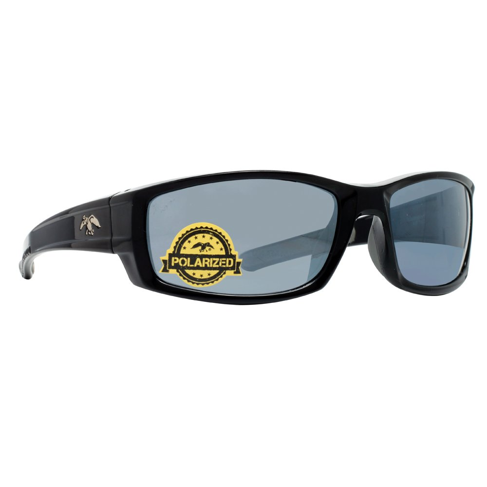 3f2bf5f3c4 Amazon.com  DUCK COMMANDER Men s D857 BLK Mirrored Polarized Sunglasses