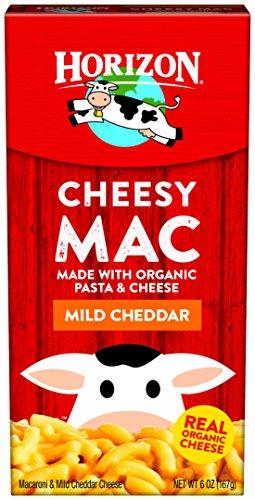 Horizon Organic Classic Mac Cheese, Macaroni and Mild Cheddar, 6 Ounce (Pack of 12)