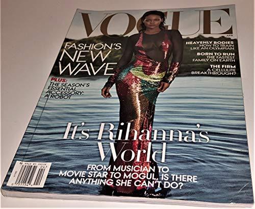 Vogue Magazine (April, 2016) Rihanna Cover