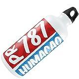 Water Bottle 787 Humacao, PR red/blue 20oz / 600ML