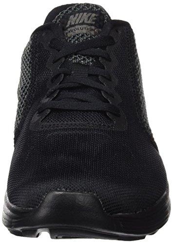 Calzado De Running Nike Mujeres Revolution 3 Negro / Metalizado Gris Oscuro / Antracita