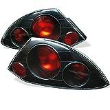 Spyder Auto Mitsubishi Eclipse Black Altezza Tail Light