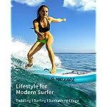MaxKare-Stand-Up-Paddling-Board-SUP-Board-iSUP-antiscivolo-Paddle-Board-con-accessori-completi-e-zaino-impermeabile-per-ragazzi-adulti-nel-fiume-oceano-e-lago