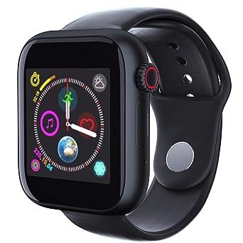 Amazon.com: AxiBa Steel HR Sport Smartwatch - Activity ...