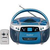 HamiltonBuhl MPC-5050PLUS USB, MP3, CD, Cassette Recorder and AM/FM Radio Boombox