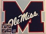 Ole Miss Rebels, Large Die Cut Vinyl Decal, Cornhole Boards, Auto