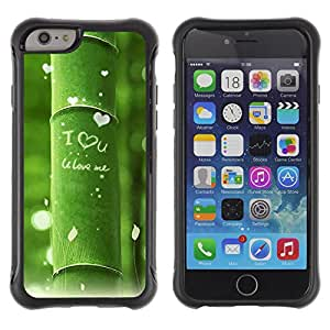 Pulsar Defender Series Tpu silicona Carcasa Funda Case para Apple iPhone 6(4.7 inches) , Nature Beautiful Forrest Green 11