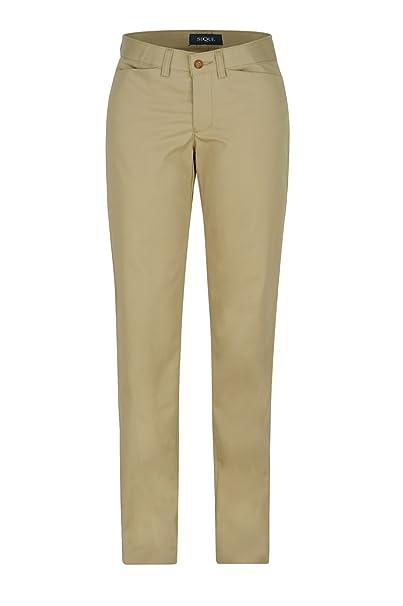 Pantalon Dama Dacache Torino Gabardina color kaki estampado solido Mujer  Uniforme Empresarial Ejecutivo Oficina Casual 2505abd15e29