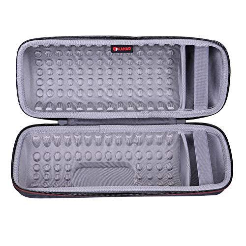 XANAD Case for JBL Charge 4 Portable Waterproof Wireless Bluetooth Speaker Grey
