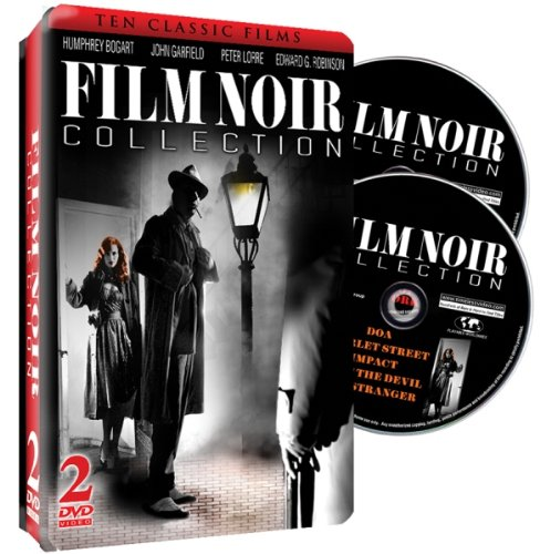 Film Noir Collection - 2 DVD Embossed Tin by Shout! Factory / Timeless Media