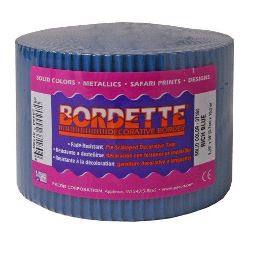 Pacon Bordette Decorative Bulletin Board Border Roll, 2.25