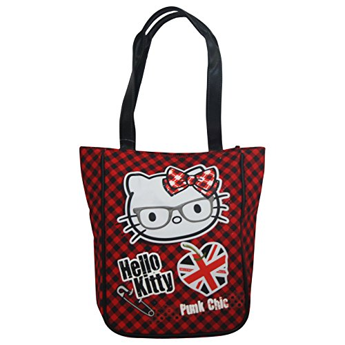 Price comparison product image Hello Kitty Vichy Bag Handbag Shoulderbag Crossbody Travelbag Shopping Tote