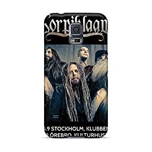 High Quality Hard Phone Case For Samsung Galaxy S5 (VhL12713cuXj) Unique Design Trendy Korpiklaani Band Skin