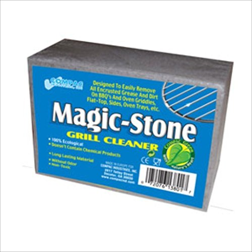 new-compac-magic-stone-griddle-grill-bbq-barbecue-cleaner-cleaning-block-pumice