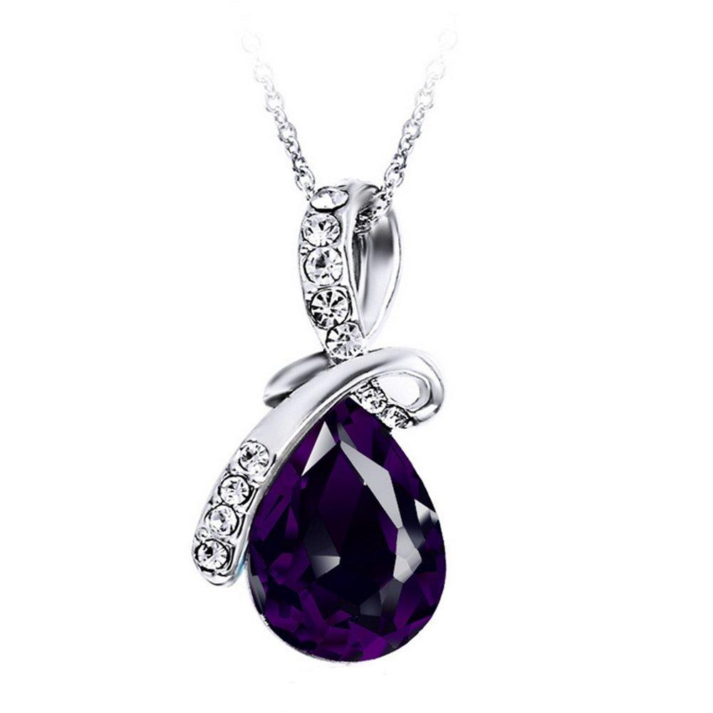 Treestar Fashion Angel Tear Drops Anhänger Artikel Schlüsselbein Elegante Dame Jewelry Halskette 1