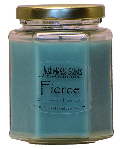 Fierce (Compare to Abercrombie & Fitch) Scented Blended Soy Candle by Just Makes Scents
