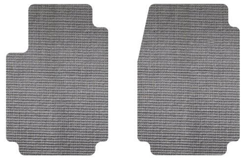 Intro-Tech Sisal Front Row Custom Floor Mats for Select Chevrolet Camaro Models - Natural (Light Gray)