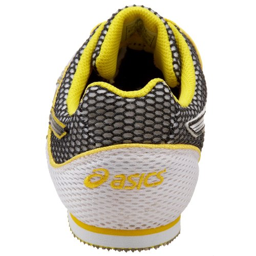 wiki cheap price free shipping discounts ASICS Men's Turbo Ghost 3 Track and Field Shoe White/Black/Yellow whlFLDYqc
