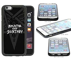 Skate And Destroy Star Beast And Horns Rubber Silicone TPU Cell Phone Case Apple iPhone 6