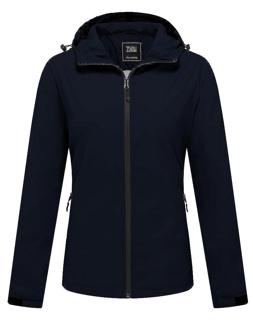 ZSHOW Women's Super Lightweight Jacket Quick Dry Windbreaker UV Protect Coat Z-show