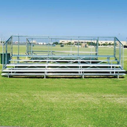 Ssg - Bsn NB0421 4 Row 21 Standard Bleacher *seats 56* Benches-Bleachers ()