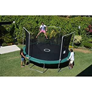 Amazon Com Bouncepro By Sportspower 15 Trampoline And