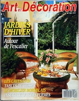 Téléchargez des ebooks gratuits pour mobile ART ET DECORATION [No 281] du 01/10/1988 - JARDINS D'HIVER - AUTOUR DE L'ESCALIER - LES CAVES A VIN - TABLES DE CUISINE - LE MOBILIER BORDELAIS - INSERTS ET FOYERS FERMES PDF ePub B004FQM1MA