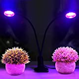 Dual LED Grow Light Desk Lamp 32LEDs Dimmable 5