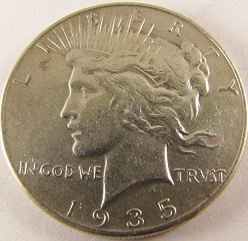 1935 Peace Dollar $1 Very Fine