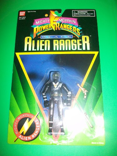 Power Rangers Black Alien Ranger 5