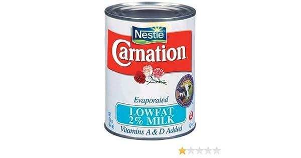 Amazon.com : > Nestle Carnation Evaporated Lowfat 2% Milk 12 oz : Sweetened Condensed Milk : Grocery & Gourmet Food
