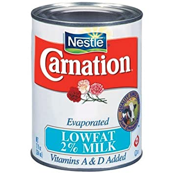 Nestle Carnation Evaporated Lowfat 2% Milk 12 oz