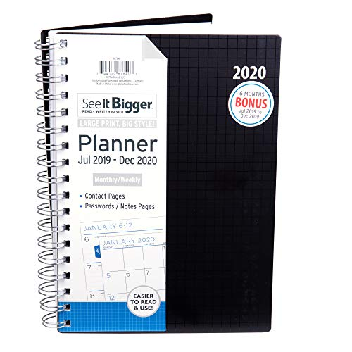 (PlanAhead 2019-2020 Academic Daily Planner 8.5