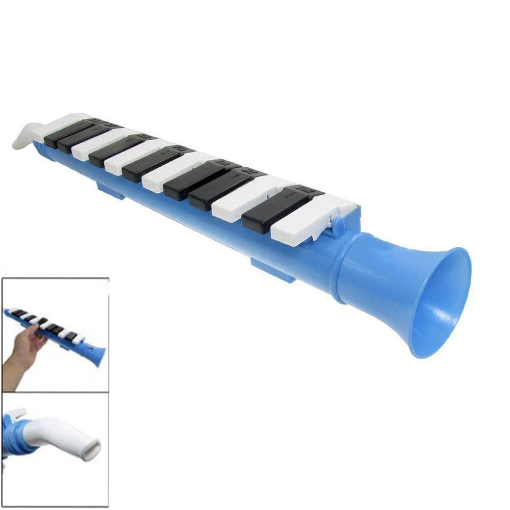 LDEXIN 13 Keys Keyboard Melodica Pianica Musical Instrument Mouth Organ Portable Wind Piano Musical Education Instrument